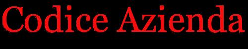 Codice Azienda