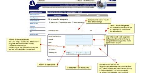 Inail e la procedura per la comunicazione telematica dei for Calcolo istat locazioni
