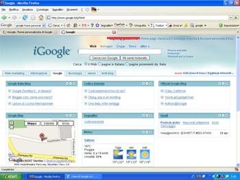 Igoogle e tu codice azienda for F24 elide codice identificativo