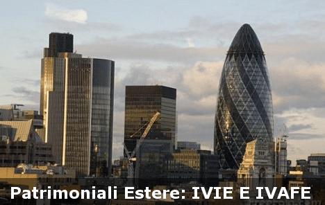 Patrimoniali estere ivie e ivafe modificate codice azienda for Calcolo istat locazioni