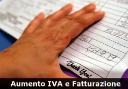 Aumento IVA fattura