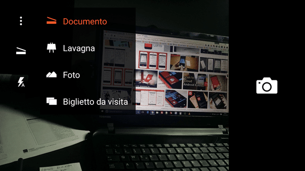 Scanner per documenti in mobilità
