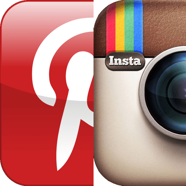 Marketing su instagram e pinterest