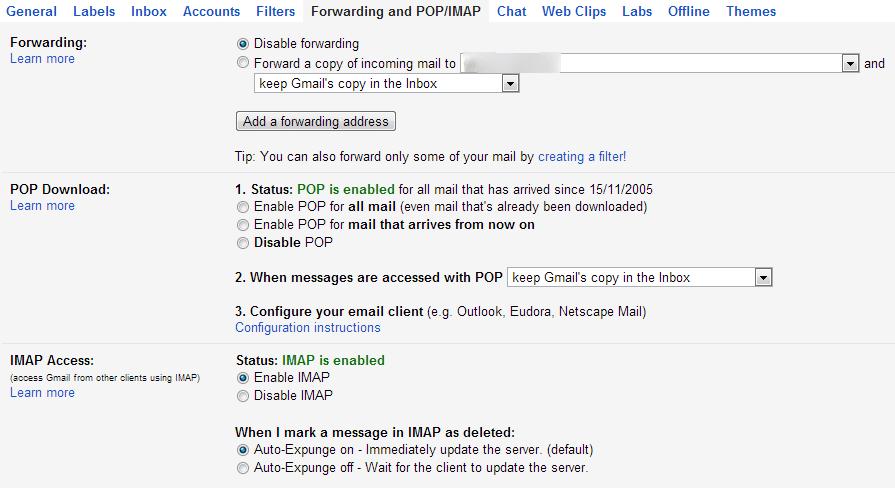 Come inoltrare automaticamente la posta con gmail codice for Calcolo istat locazioni