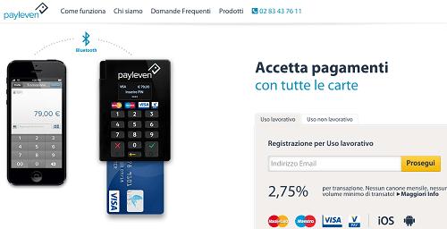 Payleven - soluzione pos per professionisti